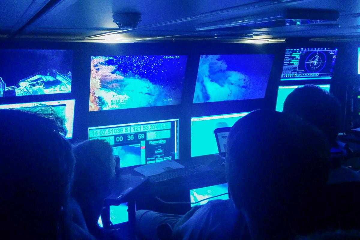 The MIT team tested the new system at Australia's Scott Reef (Photo: MIT)