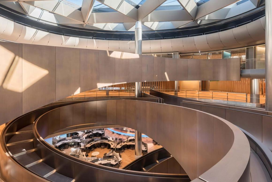 Bloomberg's newLondon headquarters,by Foster + Partners, is one of buildings shortlisted for theRIBA London Awards 2018