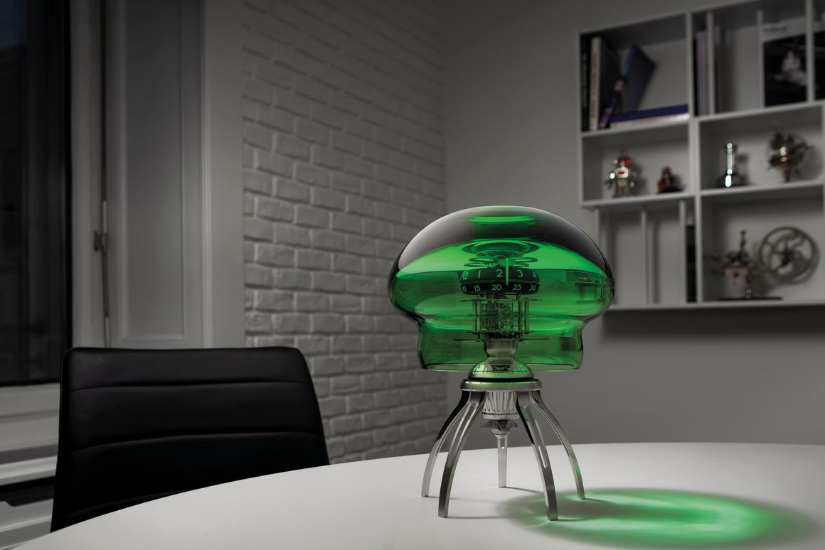 The MB&F Medusa is designed to mimic an ocean-going jellyfish