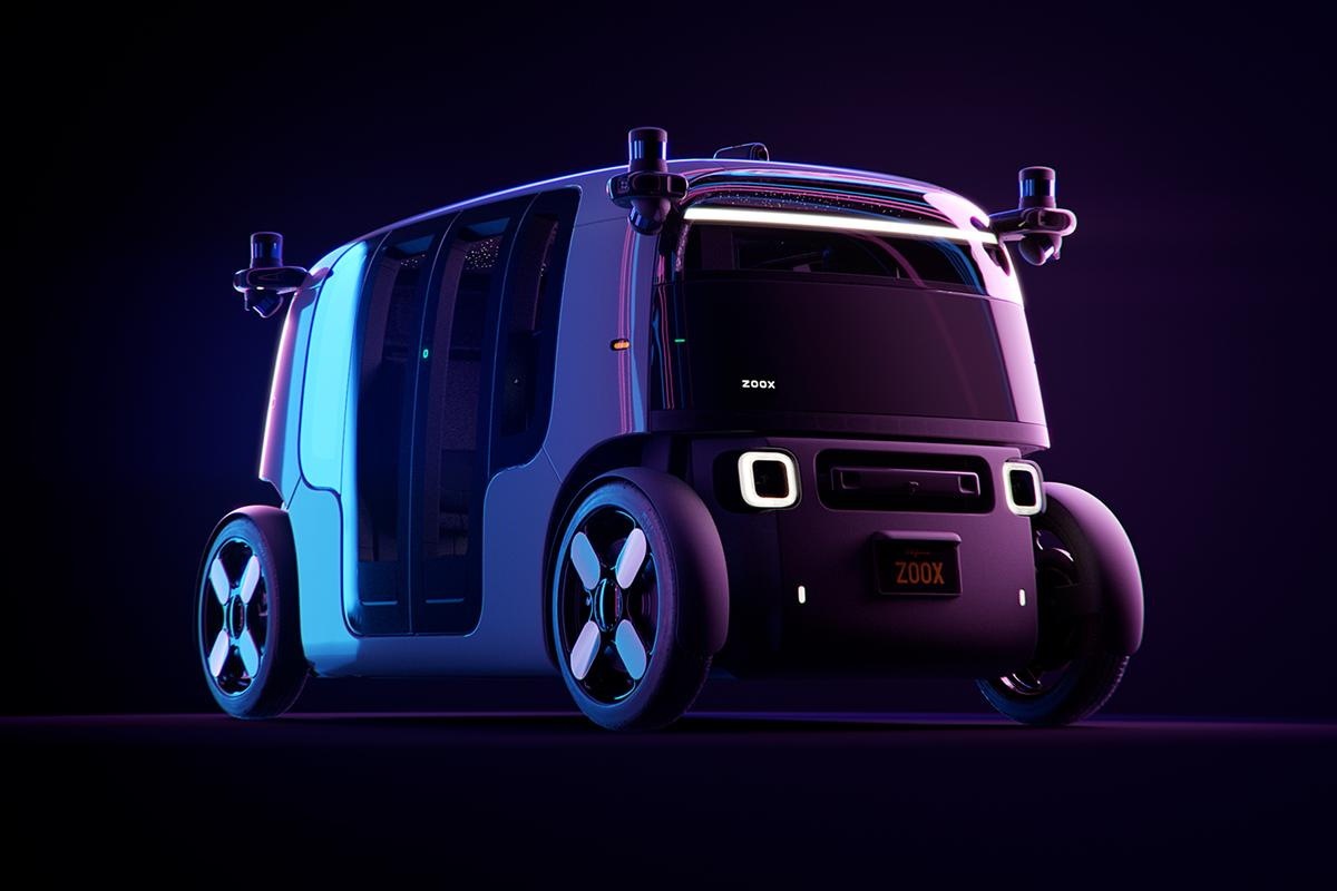 Zoox is currently testing its eponymous robotaxi in a number of US cities