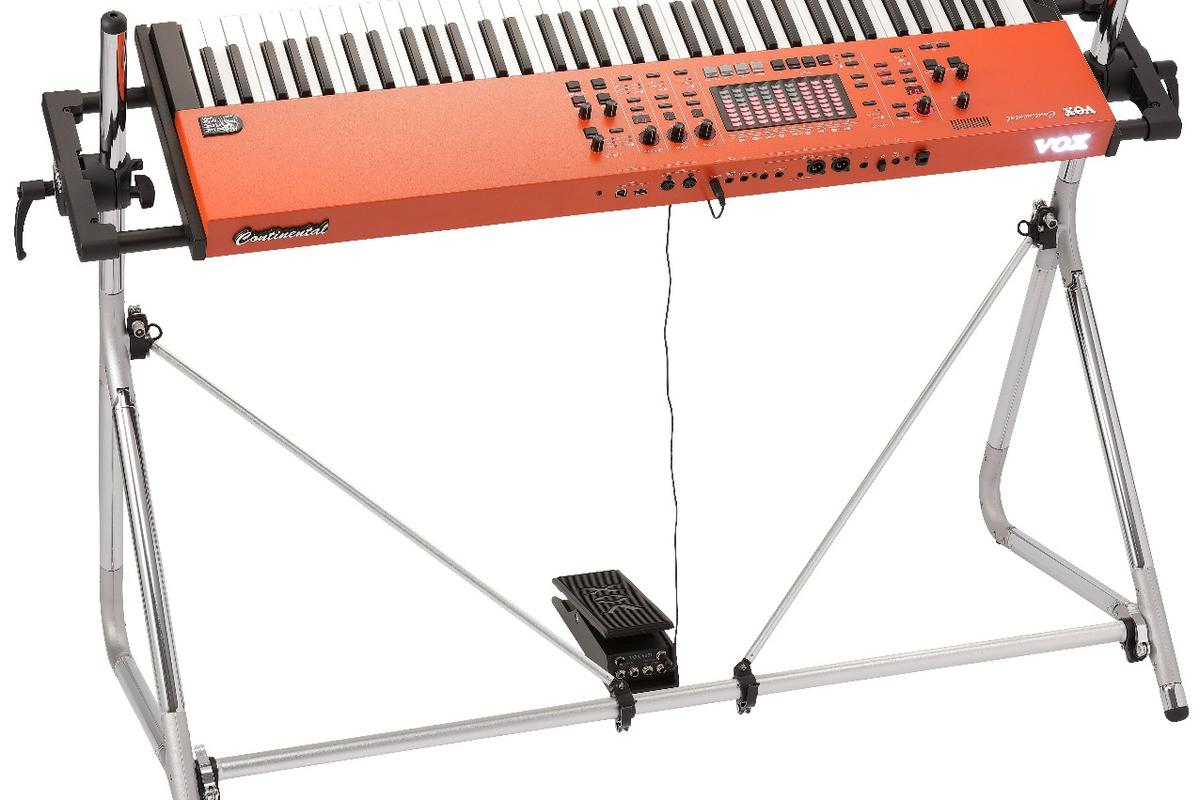 The 2017 Vox Continental keyboard is a much more powerful beast than its 1960s ancestor
