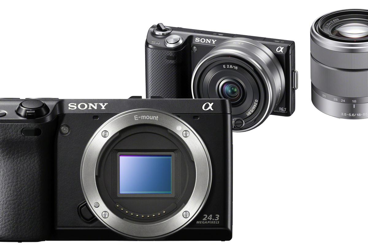 Sony has released details of its forthcoming NEX-7 and NEX-5N compact interchangeable lens digital cameras
