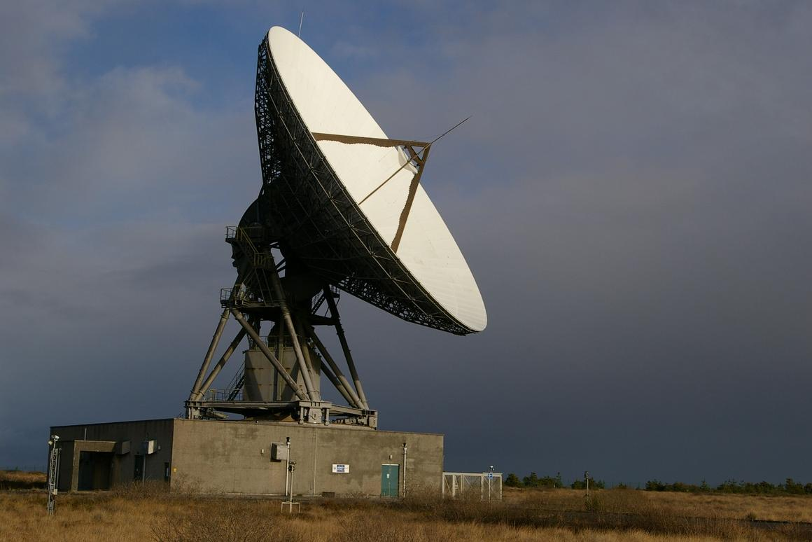 The commercial tracking system will use the GHY-6 antenna at Goonhilly
