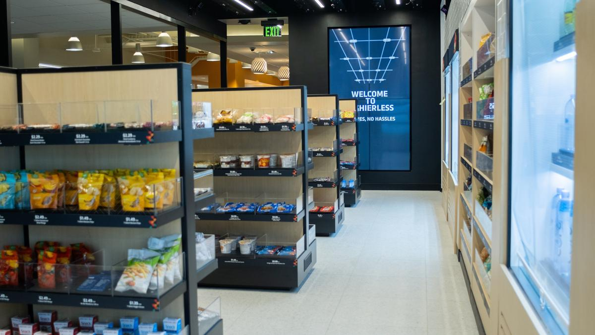 A look inside 7-Eleven's new cashierless store