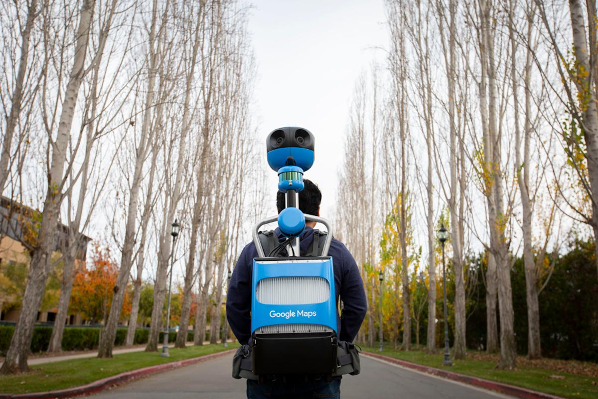 The new Street View Trekker backpack