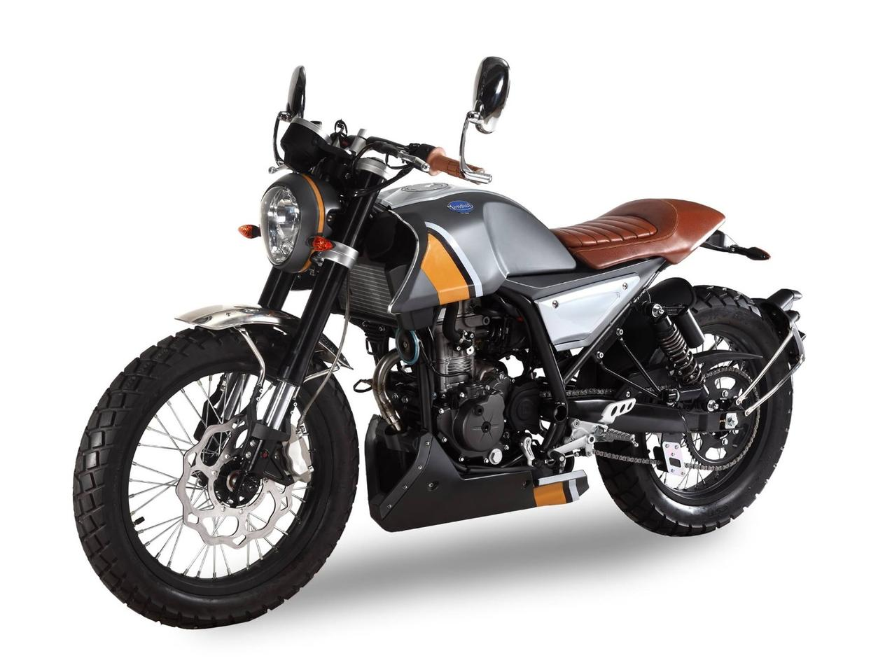 Scramblers are all the rage lately, so it's no surprise thatFBMondial made its return withsuch a striking example