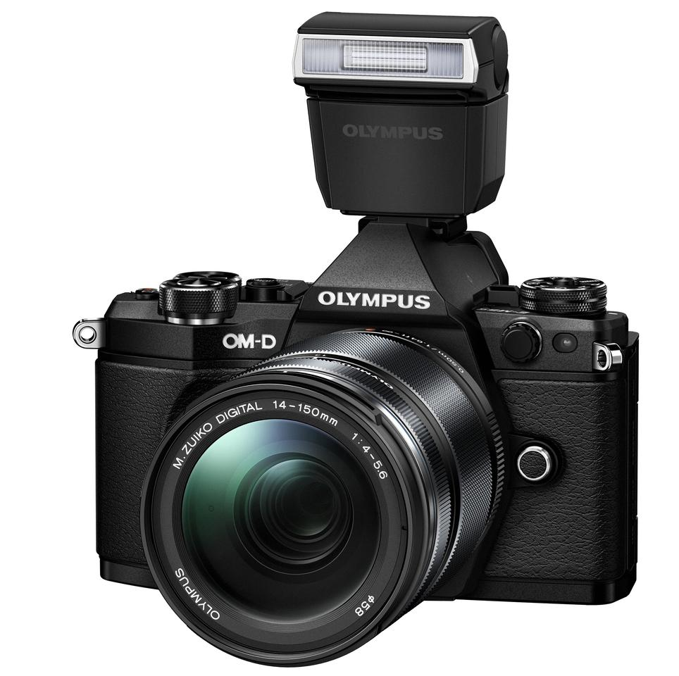 The Olympus OM-D E-M5 Mark II will be available in black and silver finishes