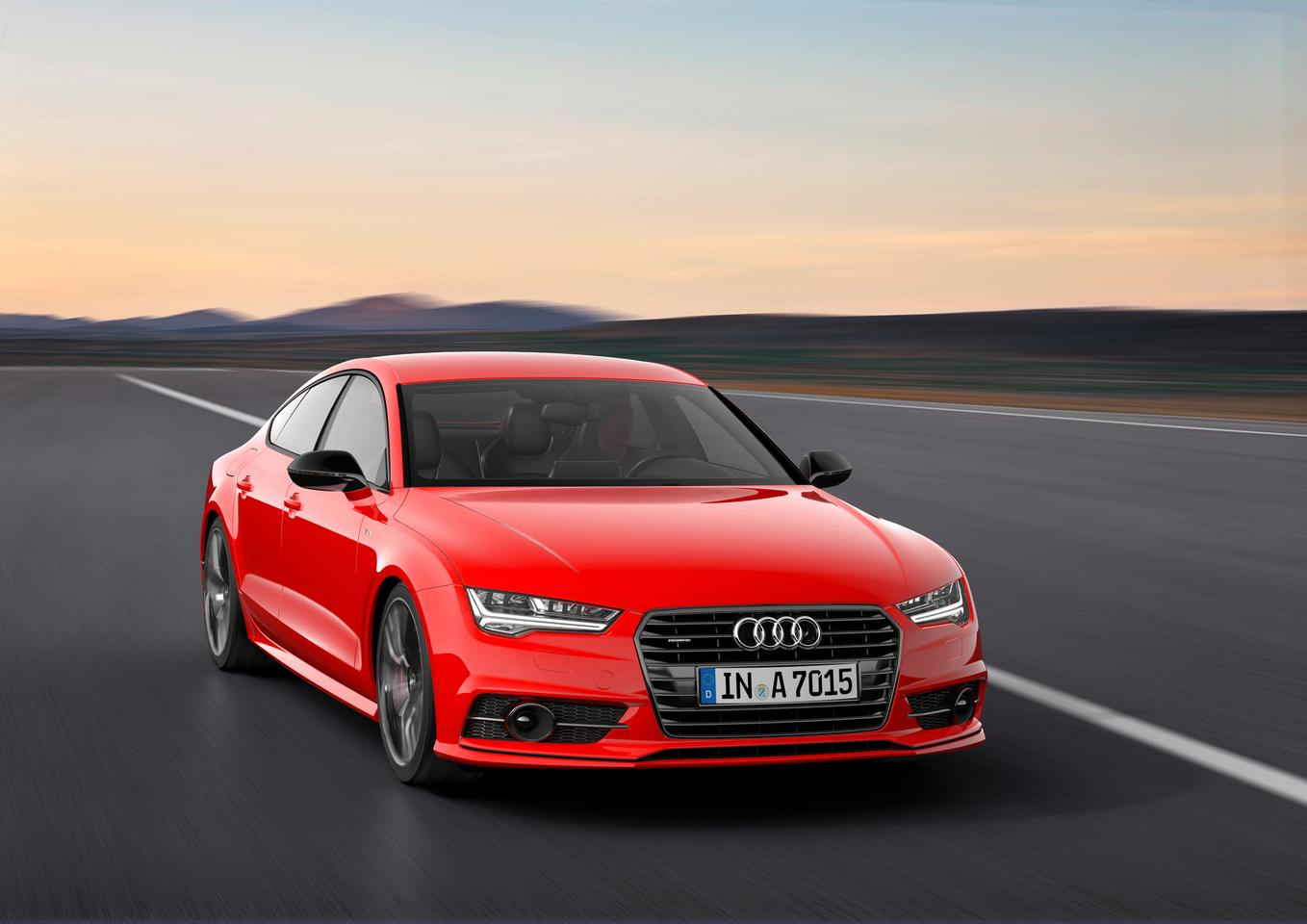 Audi's A7 3.0 TDI competition is more powerful than the standard car