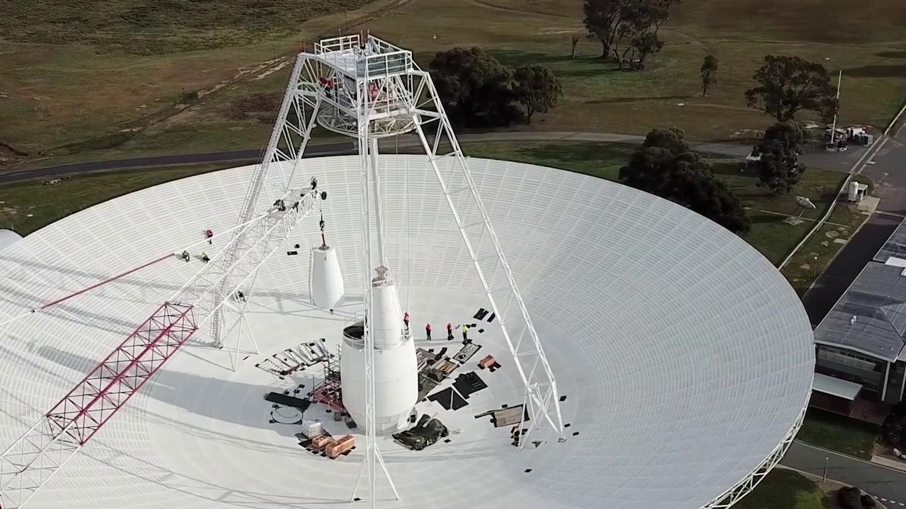 DSS43 being upgraded