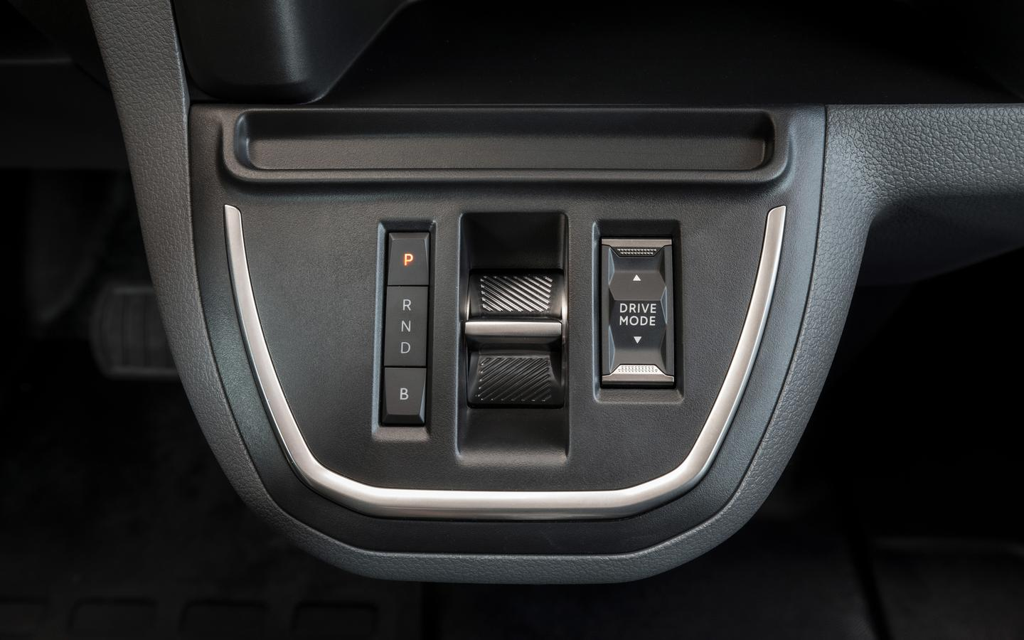 The Vauxhall Vivaro-e has a simplified drive shift system to match its electric powertrain