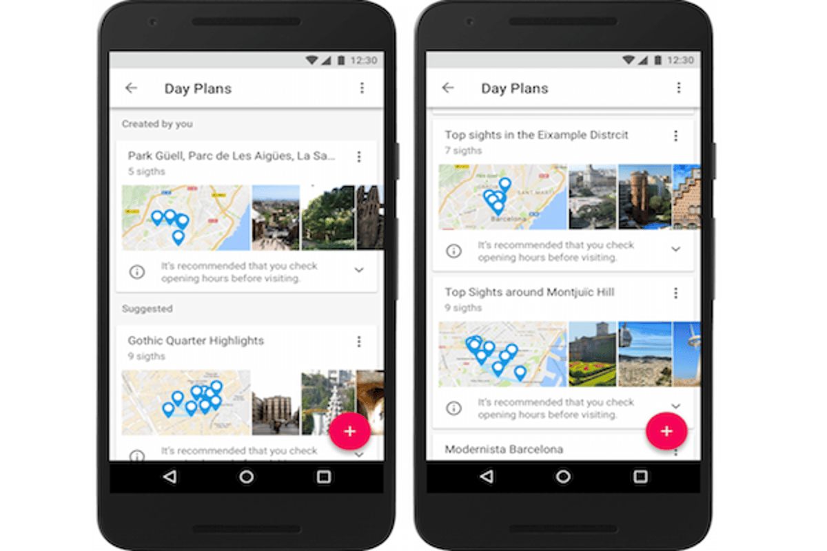 Google's new travel app, Google Trips, builds a user's itinerary using some algorithms first developed 280 years ago