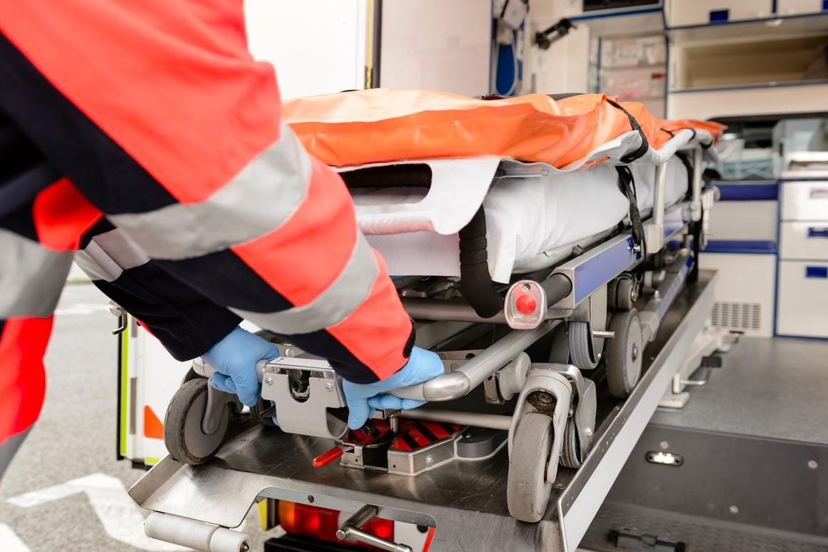 Lifting patients on traditional manual stretchers can cause injuries to paramedics