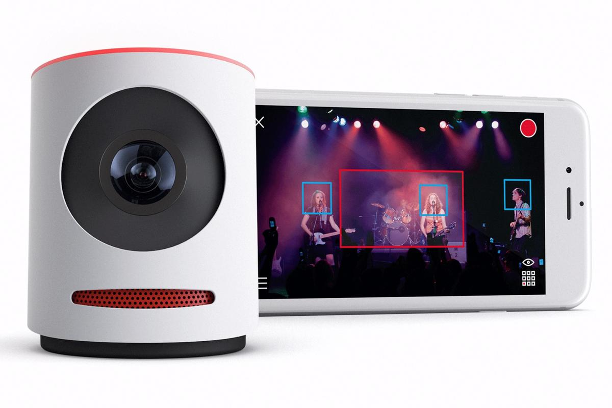 The Movi video camera from Livestream lets users edit footage from live events on-the-fly