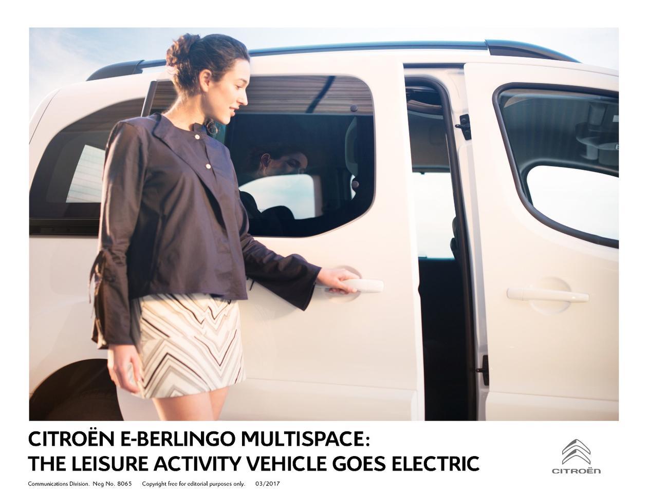 TheE-Berlingo has traditional sliding doors