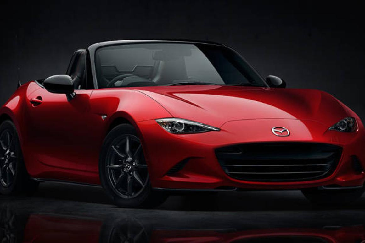 Mazda's all new, much lighter 2016 MX-5 Miata that was unveiled in Monterey