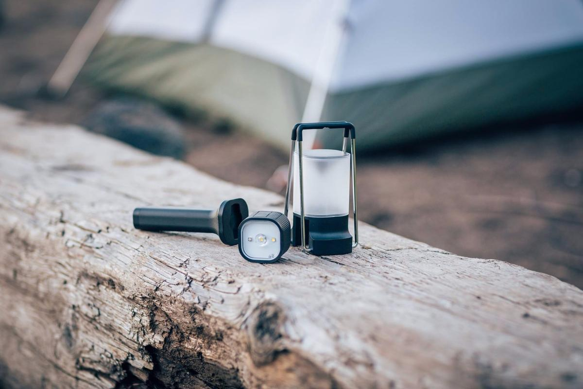 The PAL light pops into the flashlight handle or lantern to give you different styles of light