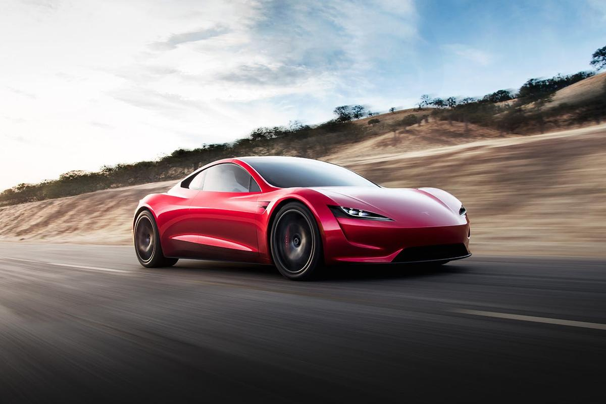 The next generation Tesla Roadster is due to go into production in 2020, but there's no timeframe available for the SpaceX thruster package