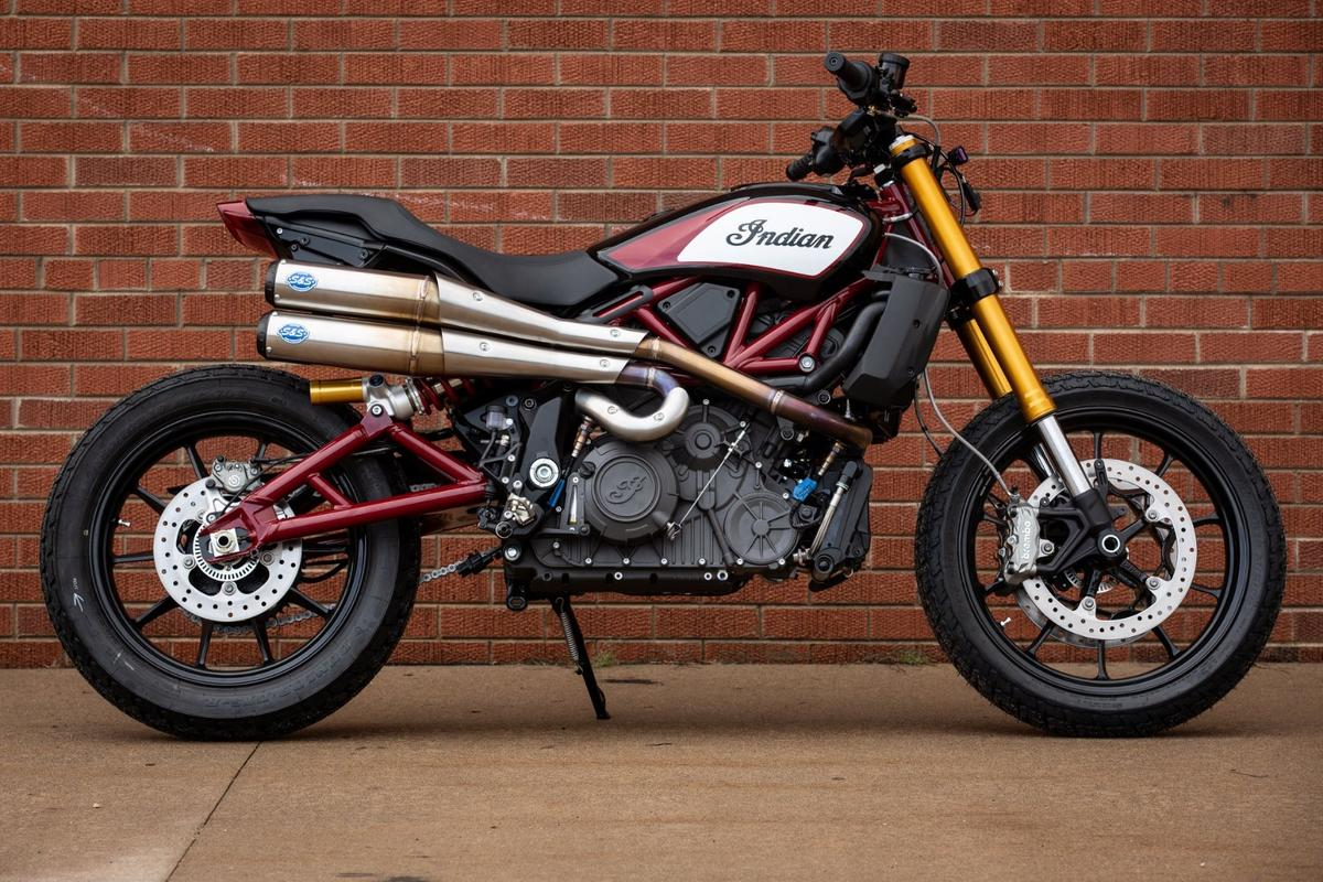 S&S Cycle has already got a prototype set of high shotgun pipes prototyped that do amazing things to the Indian FTR1200