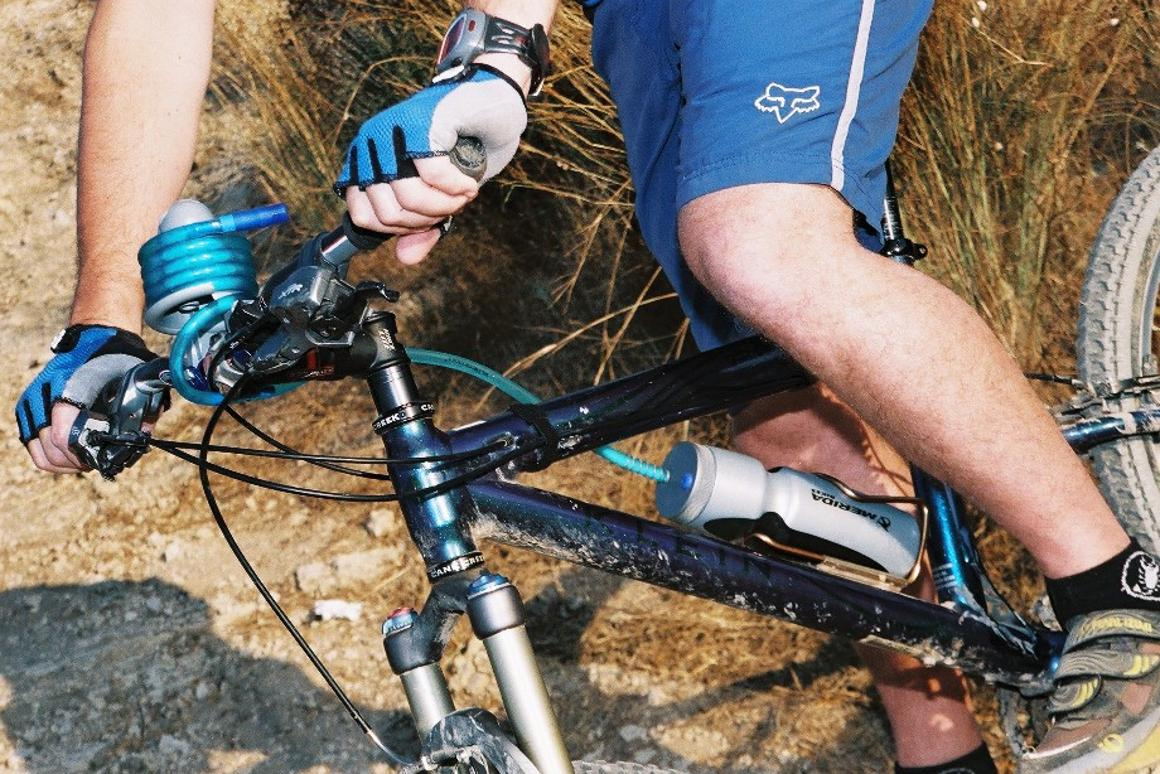 The BlueDesert H2bike is a hydration pack for your bicycle