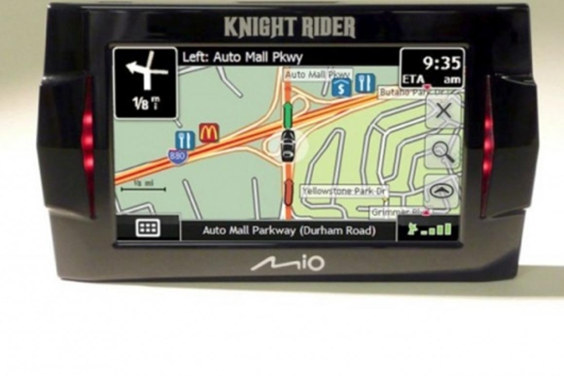 The Knight Rider GPS by Mio.