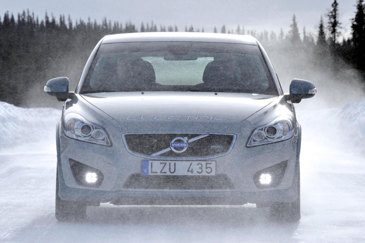 Volvo C30 Electric is fitted with a bio-ethanol powered heater
