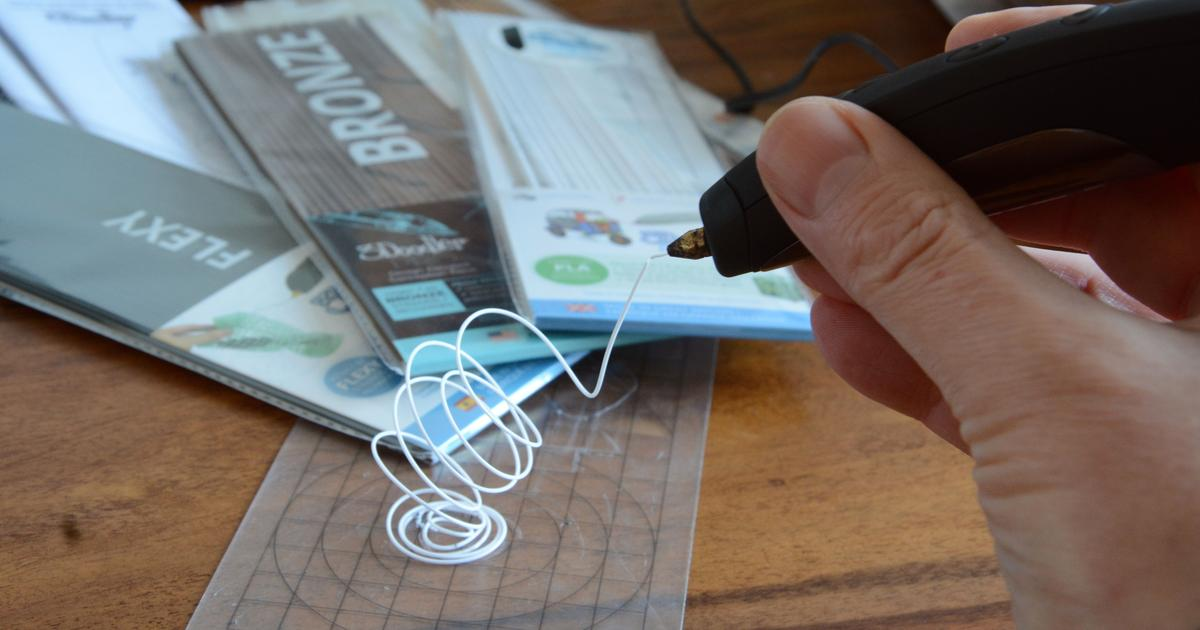 Review: Doodling in three dimensions with the 3Doodler Pro+