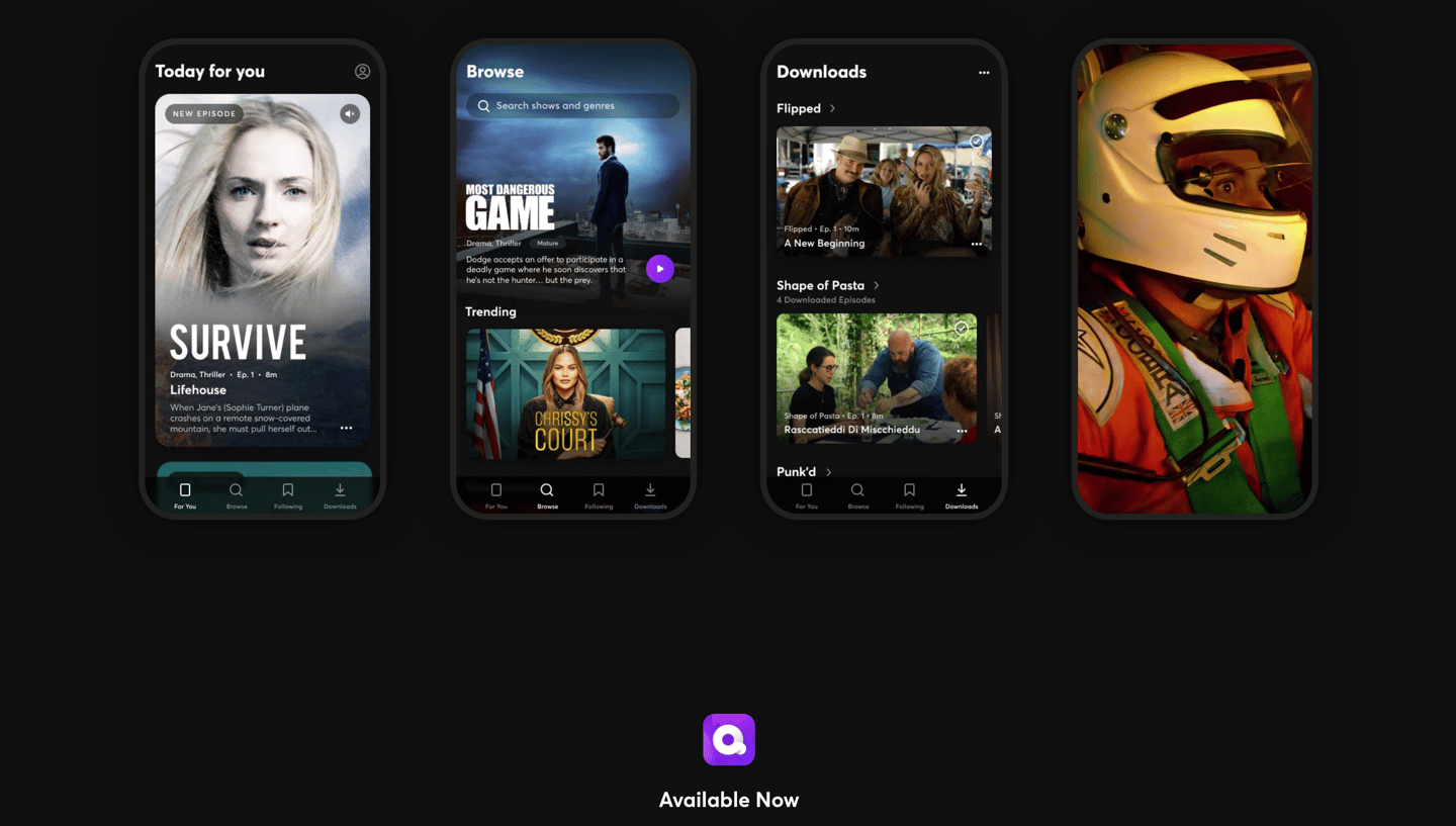 Quibi is producing a large volume of content, specifically designed for smartphone viewing in short chunks lasting no longer than ten minutes