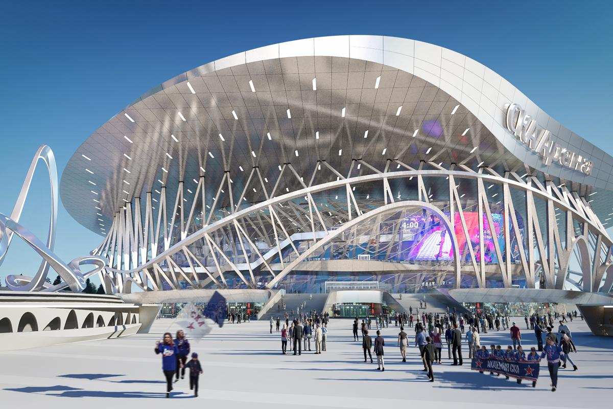 The CKA Arena and Park proposal recently won an international architecture competition, though there's no word yet on when construction is expected to begin