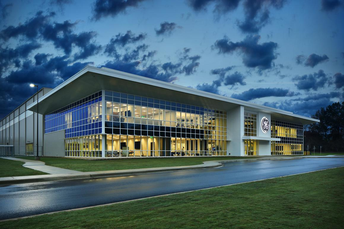 The new Advanced Manufacturing Works facility is now part of a campus that includes 1.7 million square feet of factories, offices and labs