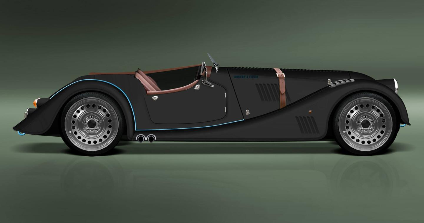 The Morgan Plus Speedster is available in a choice of colors