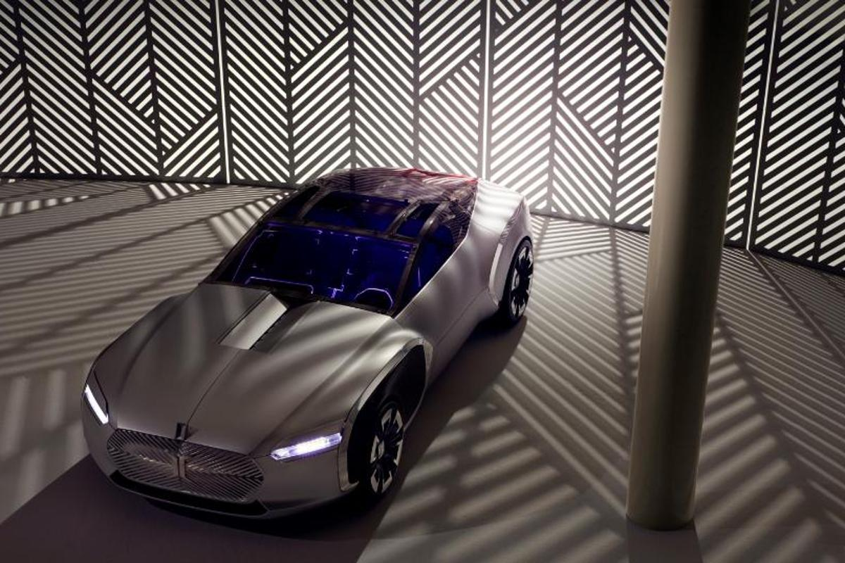 The Corbusier concept car pays tribute both to France's most famous 20th Century architect