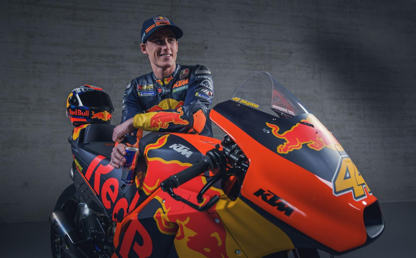 "The KTM brand is one with a very clear message: ""ready to race."" These two bikes are indeed ""ready to race"" and they are the only two motorcycles sold in the last half century that are immediately capable of being ridden competitively in the world's highest level of motorcycle competition. At €288,000 (approx. US$340,000) plus VAT, these bikes are being sold for a lot less than they cost to build."