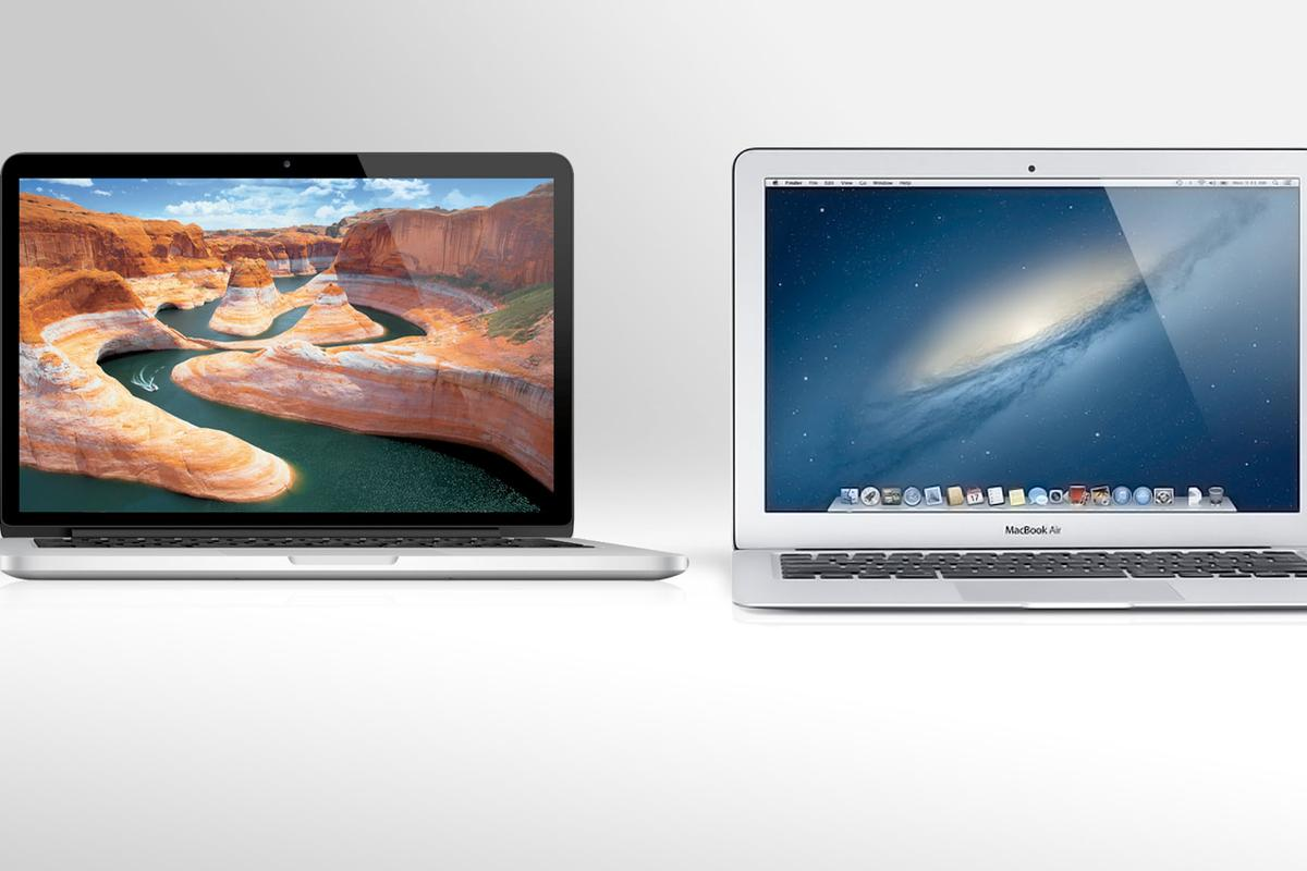 We compare the specs of Apple's MacBook Air and MacBook Pro with Retina Display