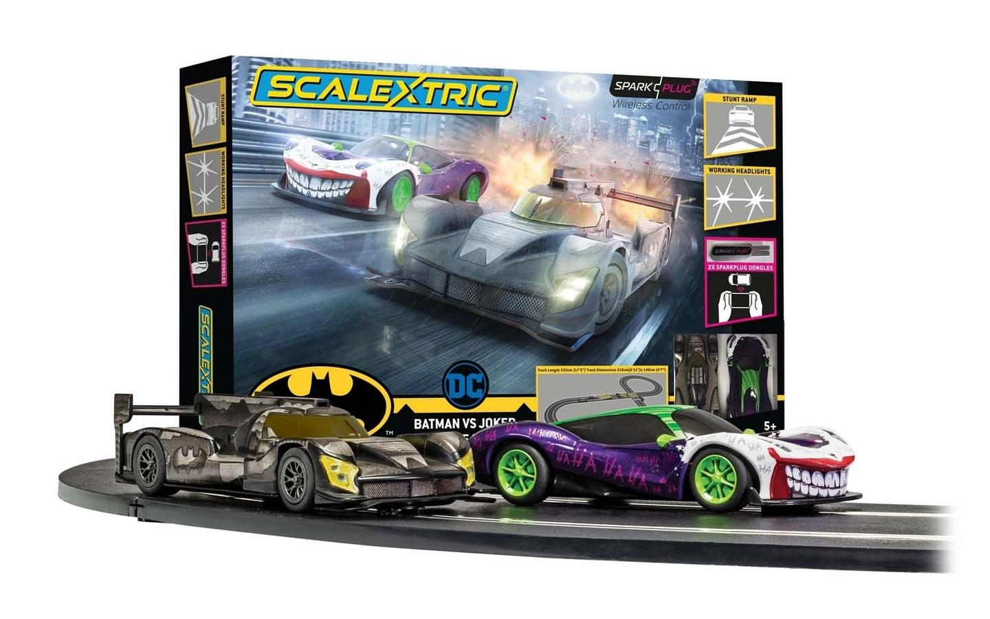 Batman can race against one of his most colorful foes, the Joker