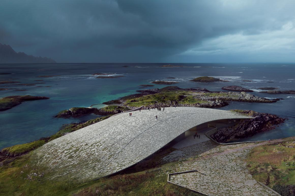 The Whale is due to open in 2022 and will provide visitors with an excellent viewing point to watch migrating whales pass by