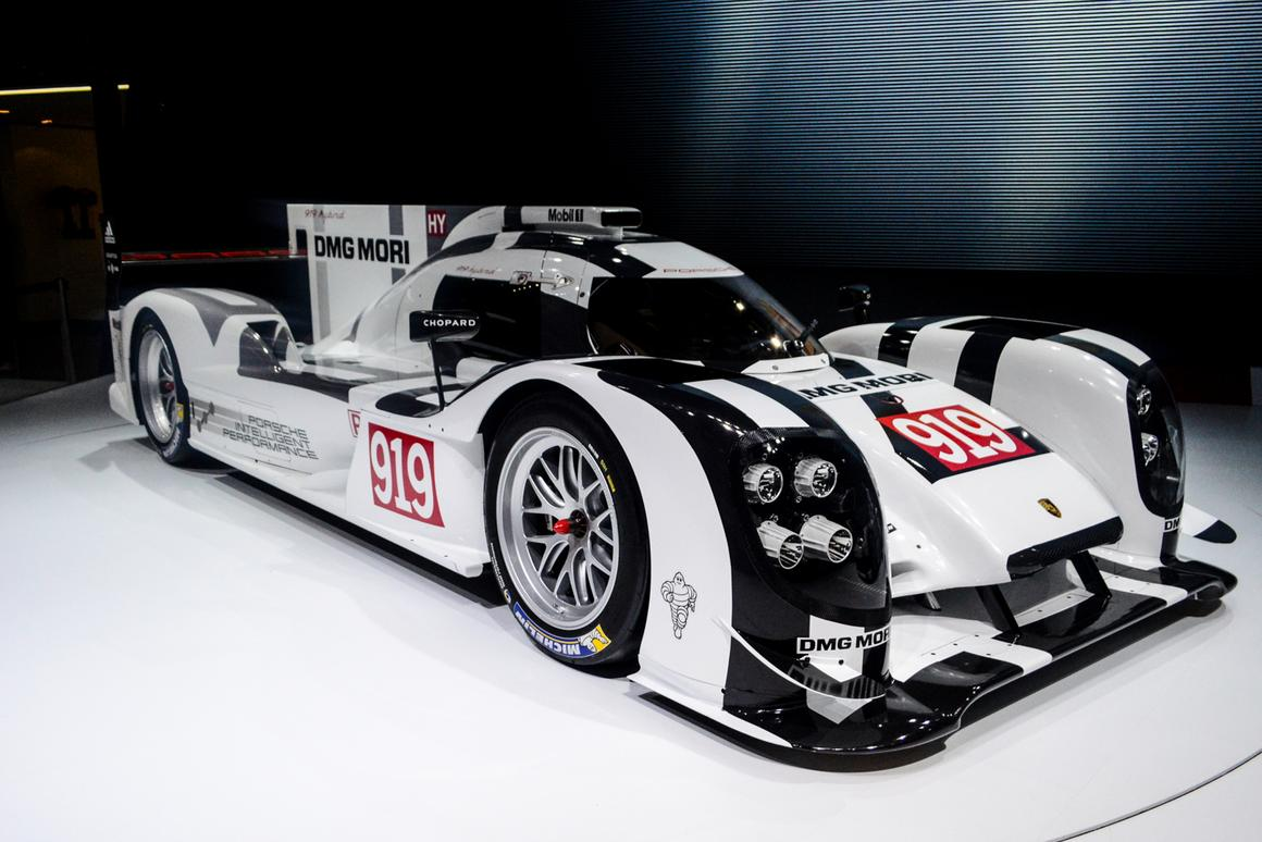 The 919 Hybrid is the result of a carefully balanced overall concept: from the combustion engine to the energy recovery systems, chassis and running gear, aerodynamics and driver ergonomics (Photo: CC Weiss/Gizmag.com)