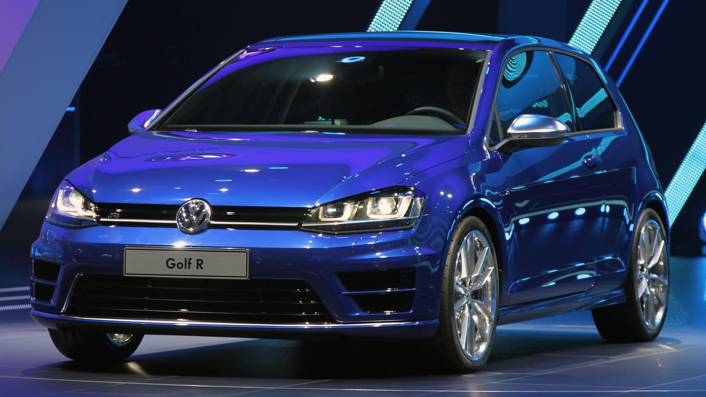 VW's updated Golf R (Photo: Gizmag)