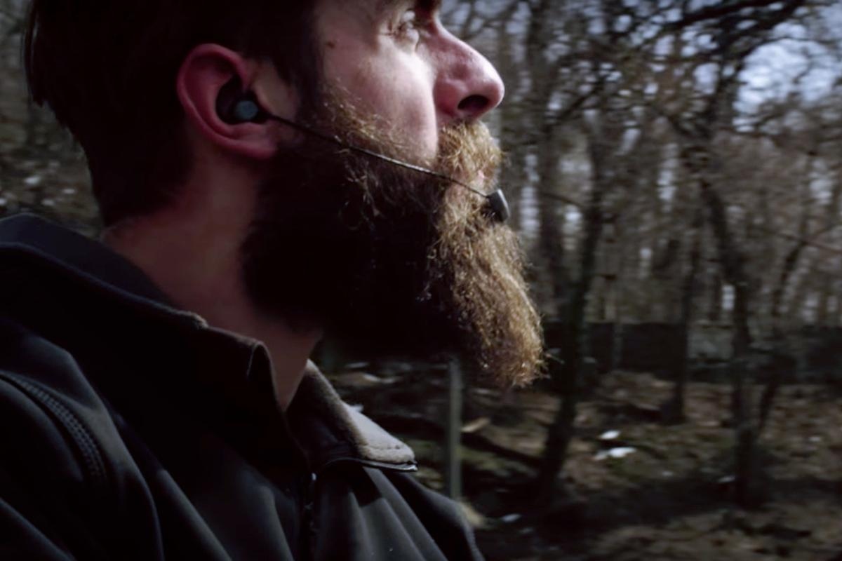 The Slimbuds are designed to stay put regardless of what kind of helmet you wear
