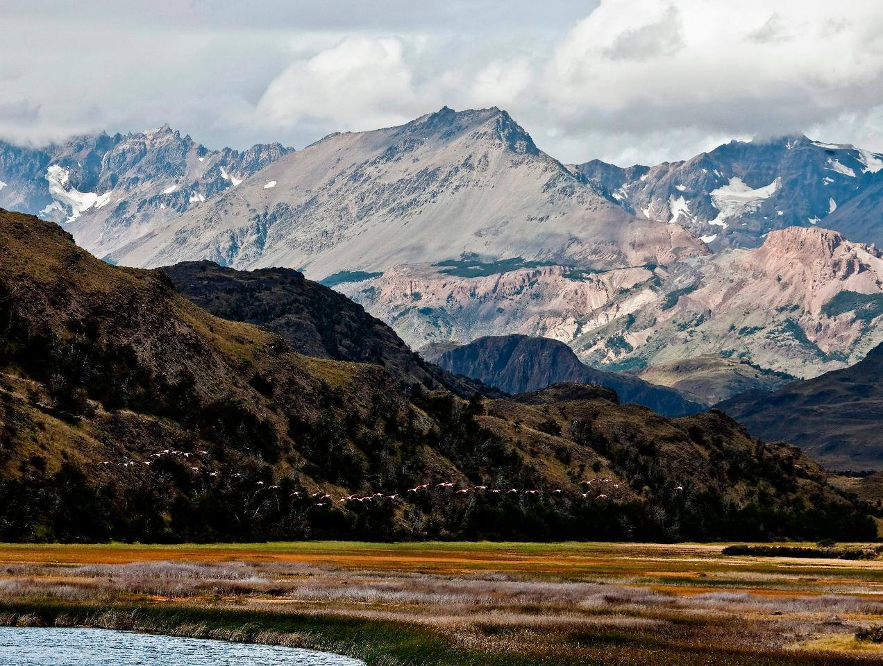 Landscape in the future Patagonia National Park