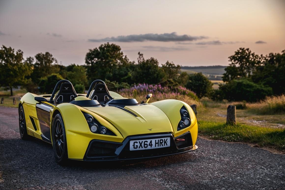 The Rp1 looks much the same as it did in 2014, though it's now painted yellow and not light blue