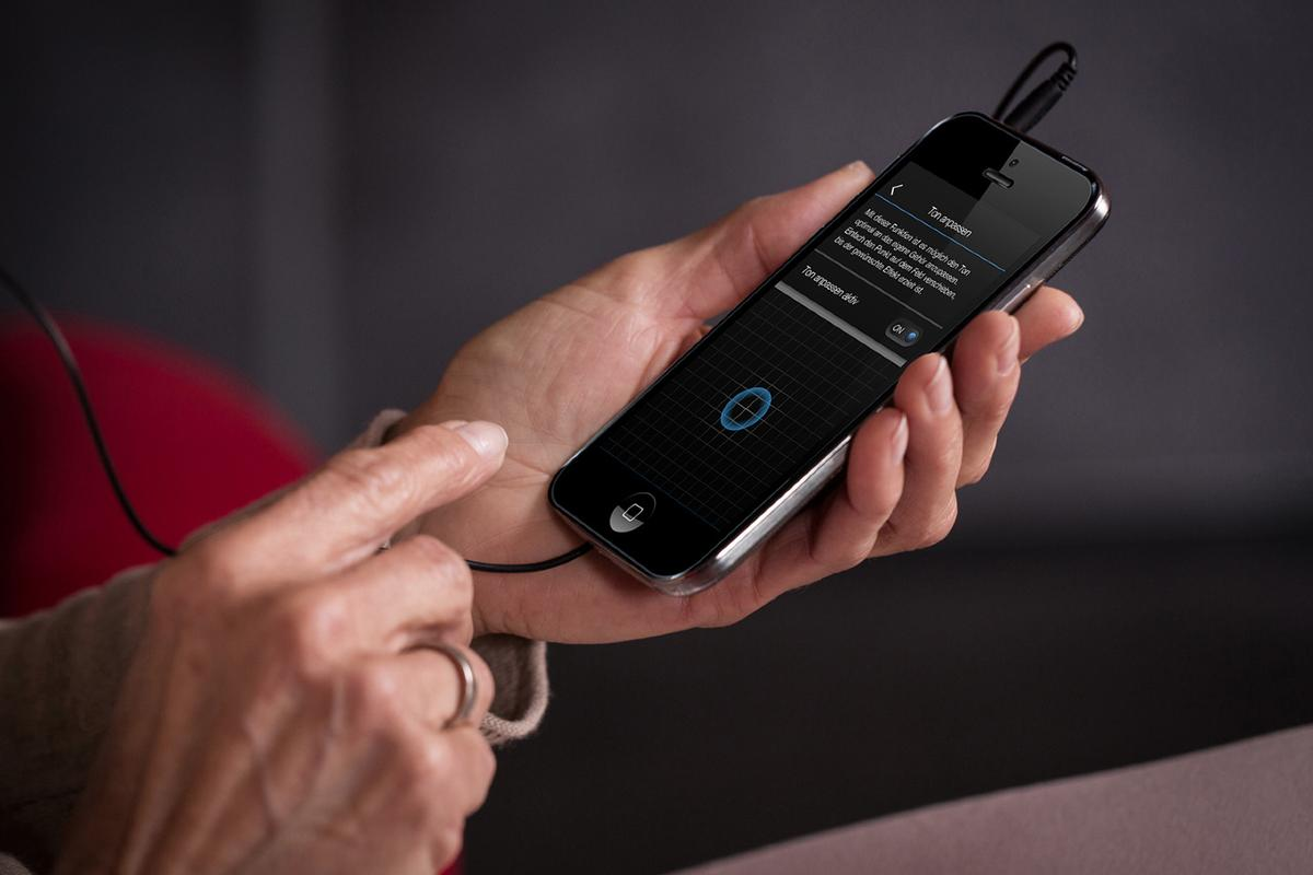 The Personal Hearing system in use