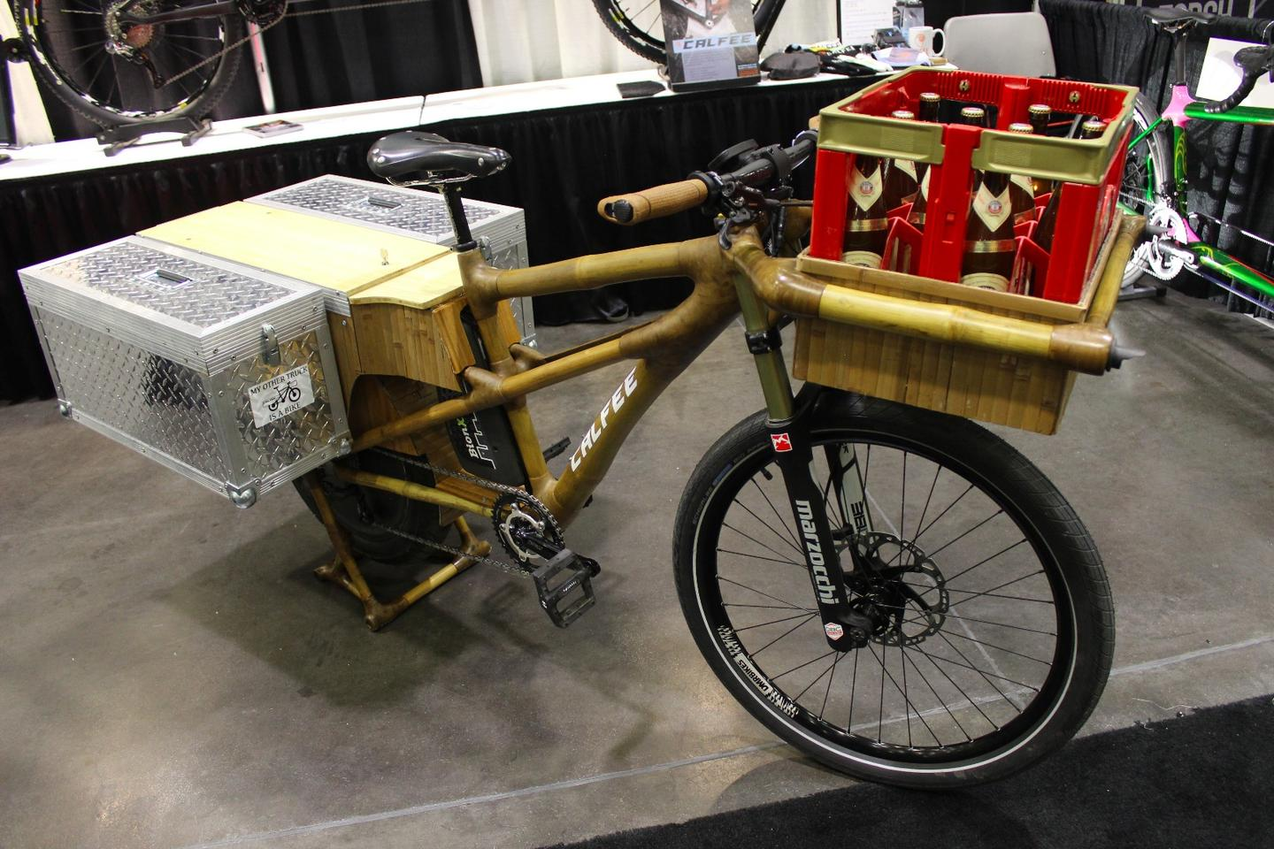 The Car Killer (as it's unofficially called) at NAHBS in Sacramento