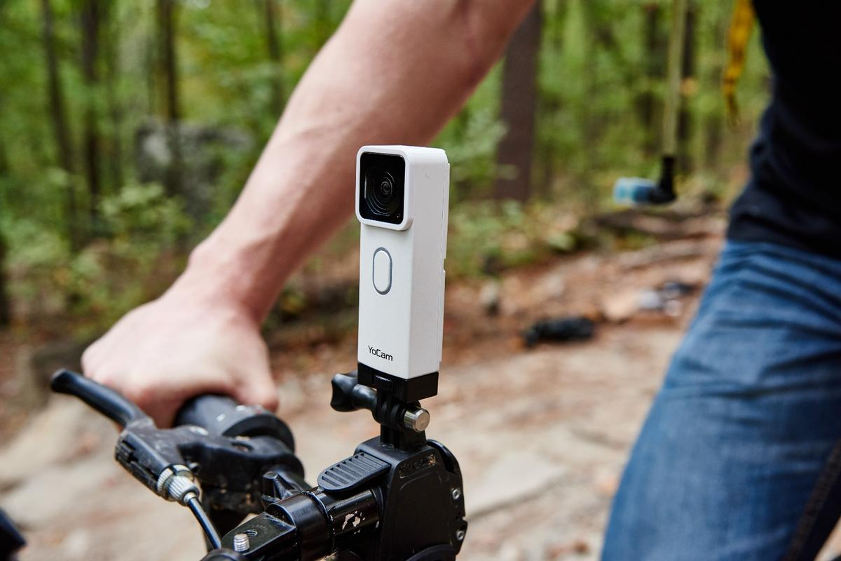 The Mofily YoCam is compatible with a wide variety of camera mounting accessories for action, sports, or adventure