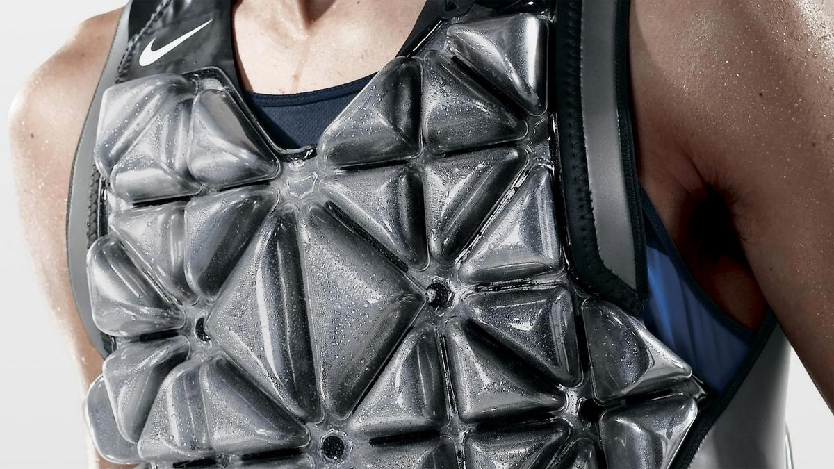 The new prototype builds on one of the company's previous efforts – the PreCool Vest
