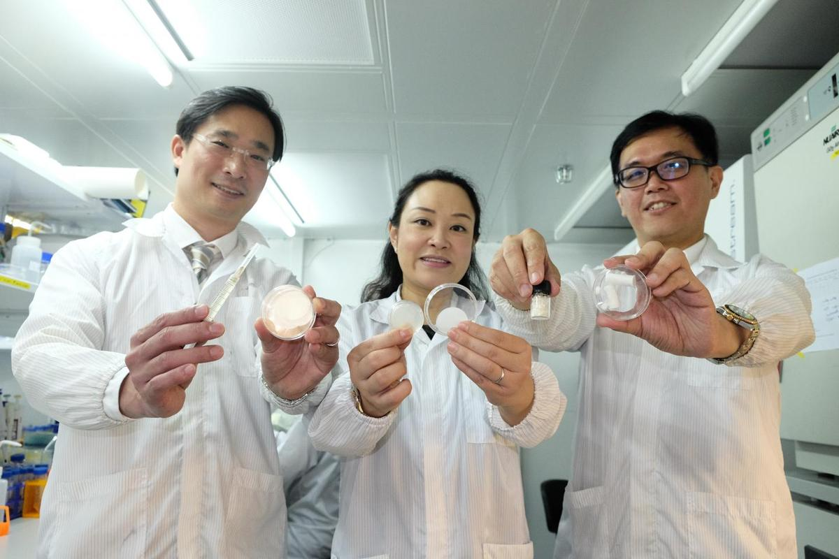 The research paves the way for a gel patch that both speeds up wound healing and reduces scarring