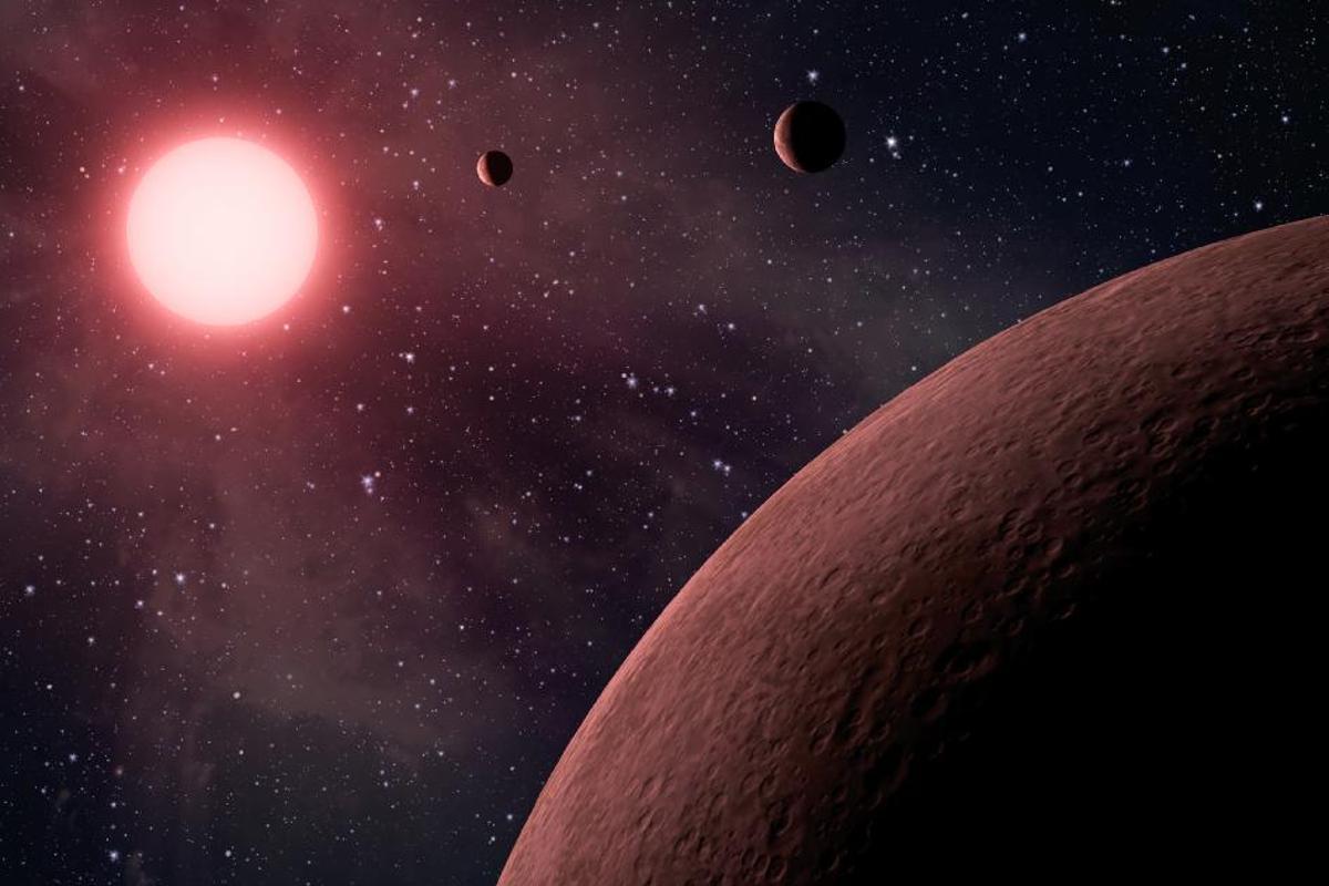 Artist's rendering of KOI-961 (Image: NASA)