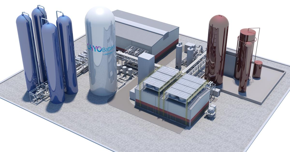 Work begins on 250-MWh CRYOBattery that stores energy as liquid air