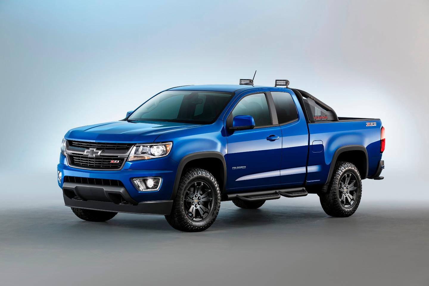 The Colorado has been fitted with an eight-speed gearbox