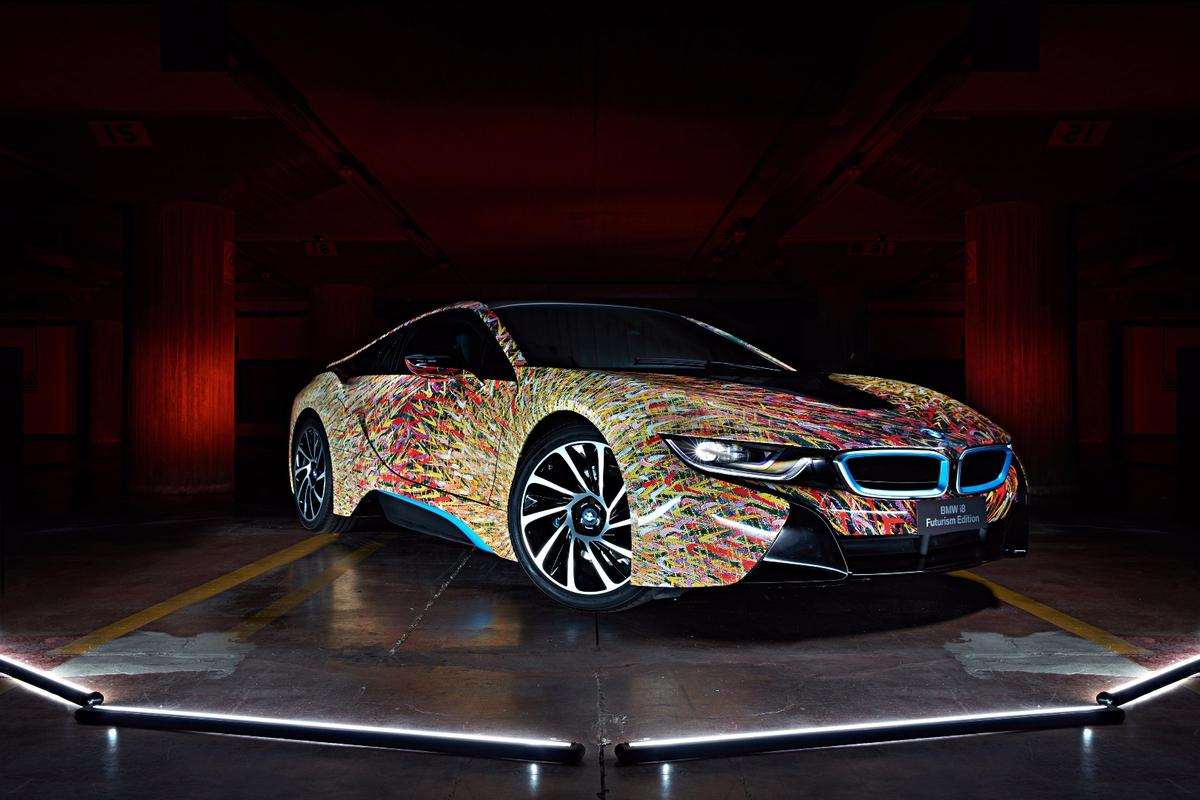 The i8 was designed in tandem with Garage Italia Customs