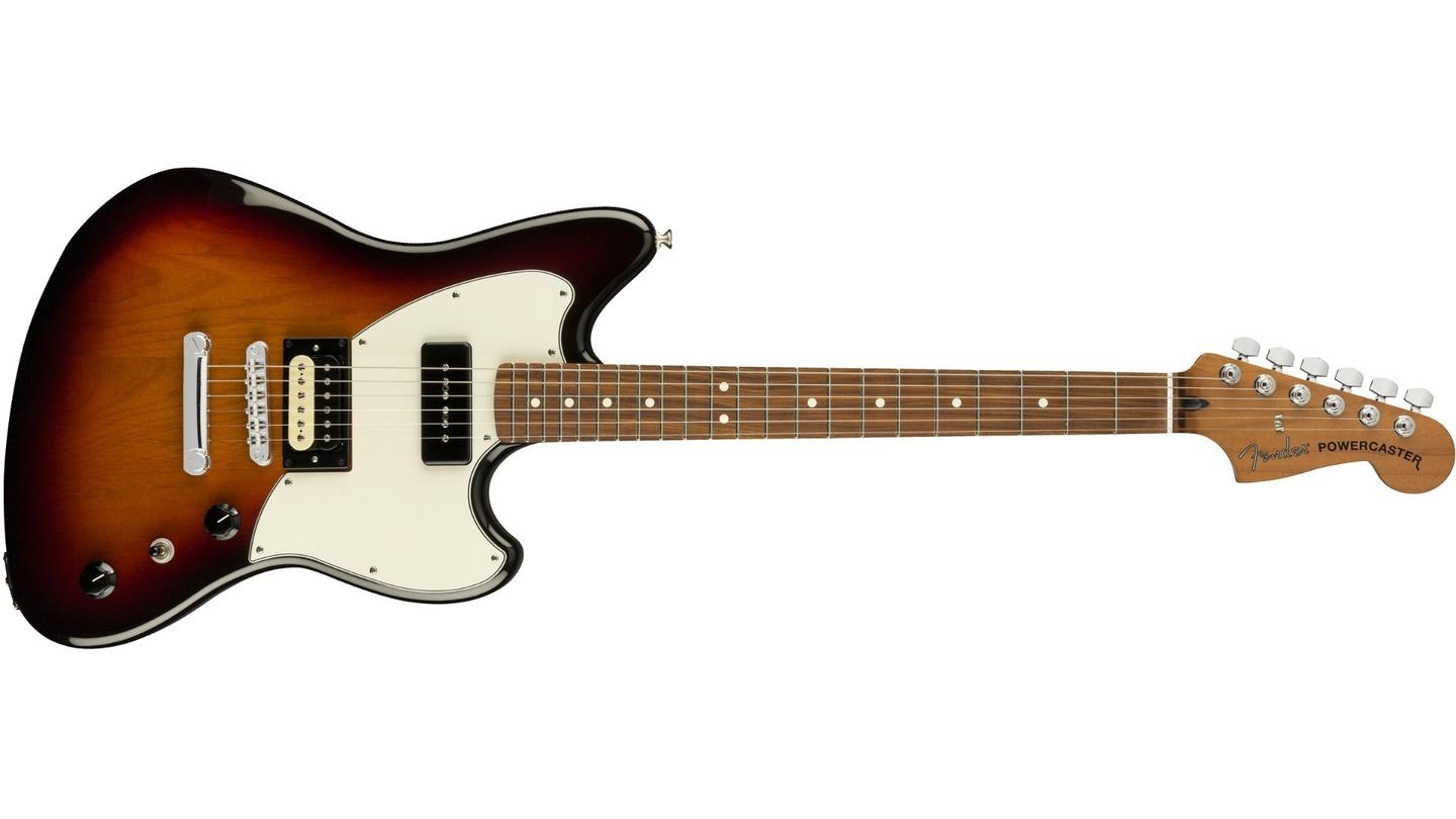 The first of Fender's limited run Alternate Reality series: The Powercaster